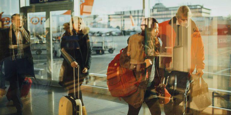 Os tipos de passageiros de avião